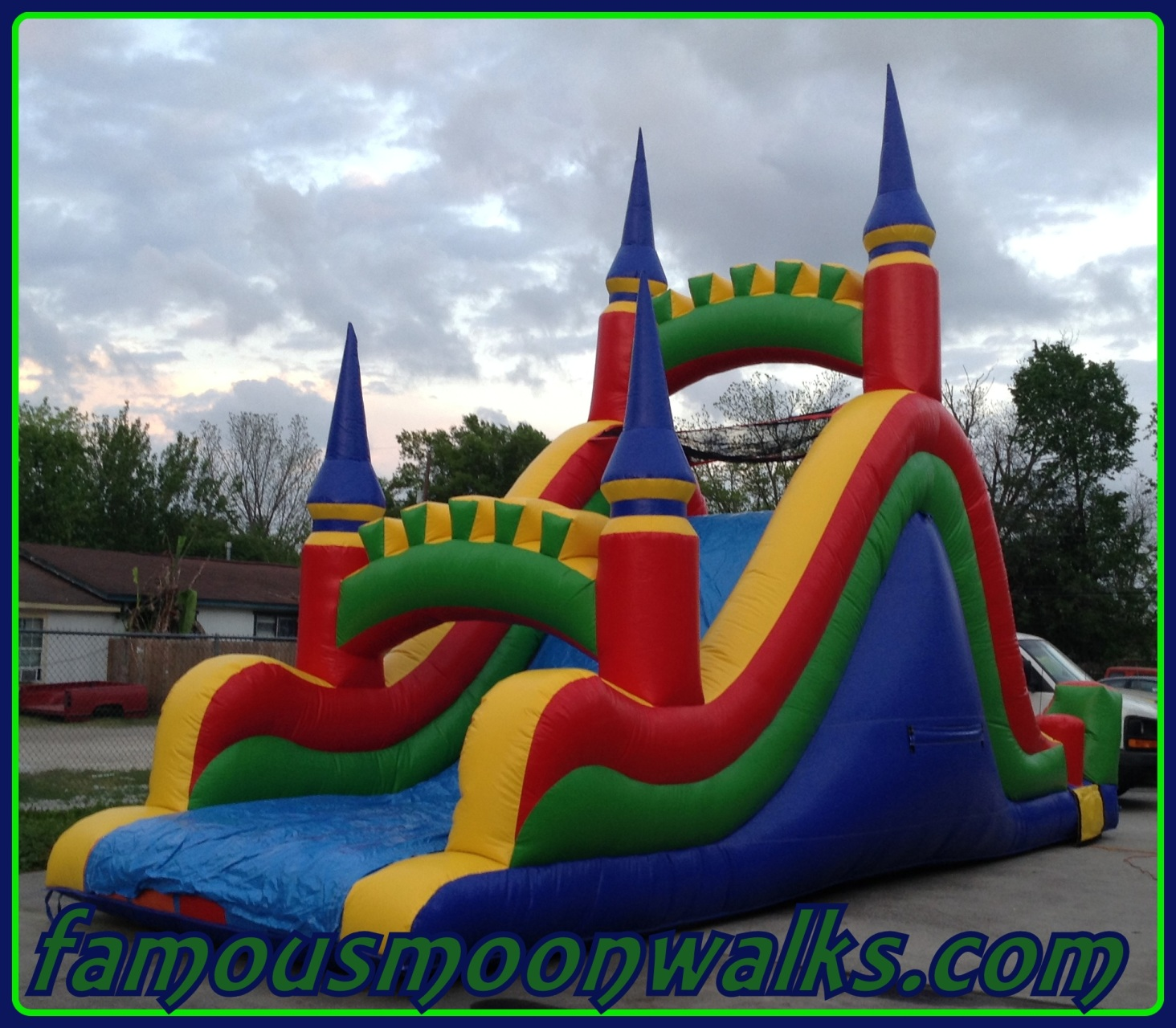 Inflatable Water Slide To Rent: Inflatable Dry Slide Rentals Houston