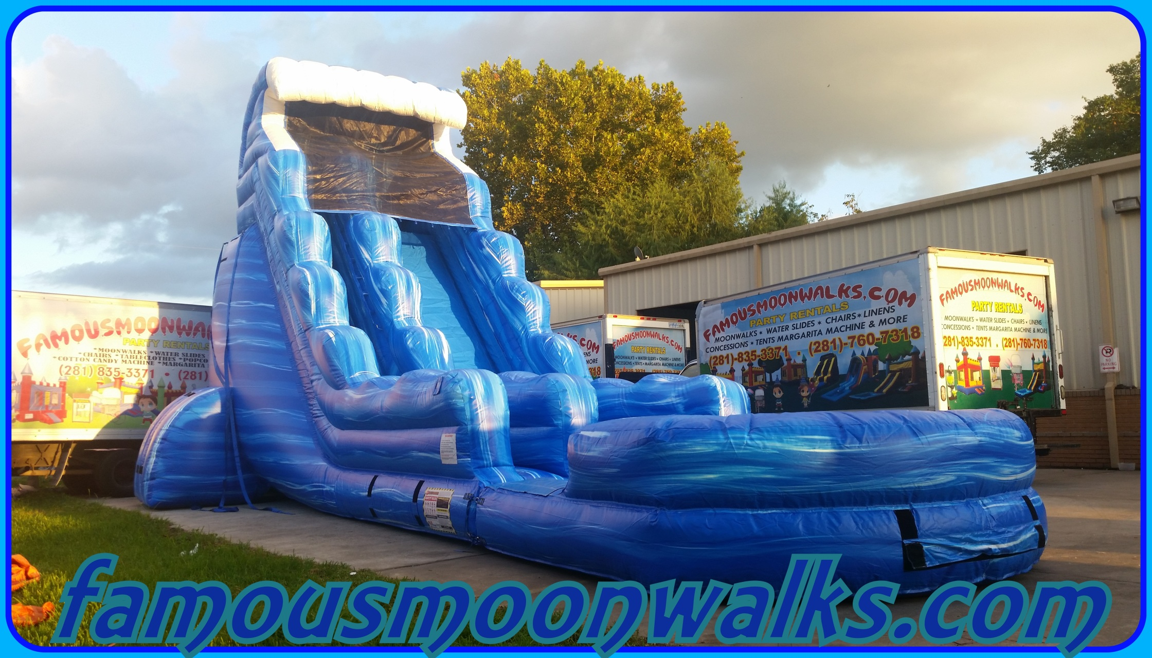 water slide rentals houston water slide package deals