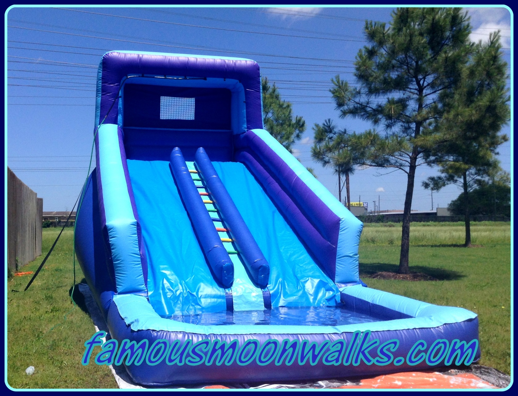 Water Slide Rentals Houston 24 Foot Tall Water Slide Rental