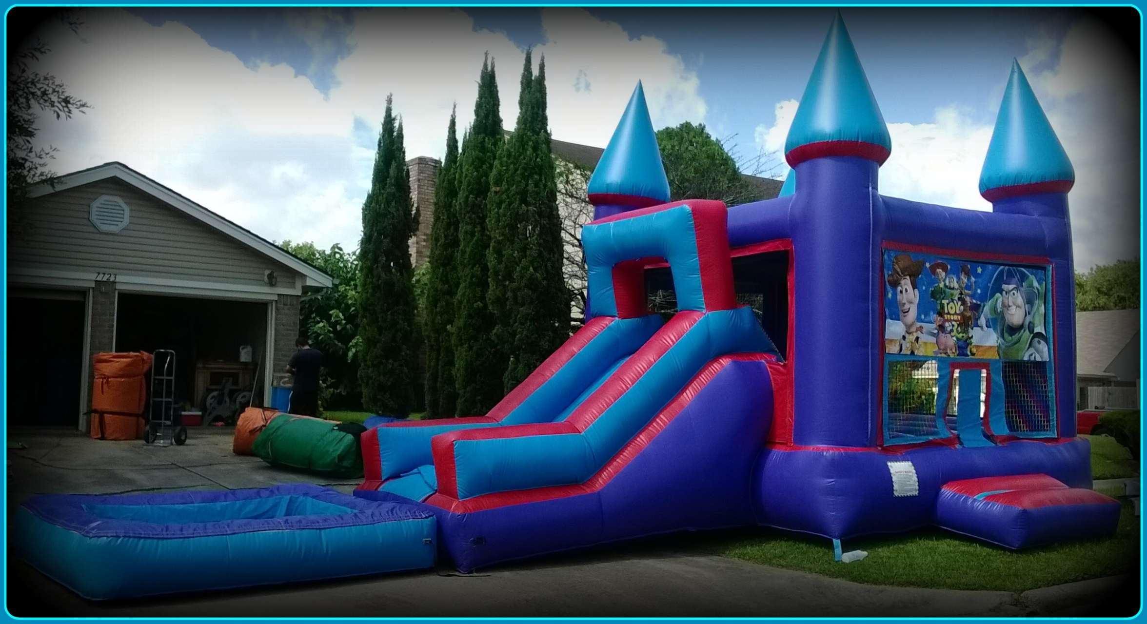 Bounce House Rentals Houston Famous Moonwalk Party Rentals